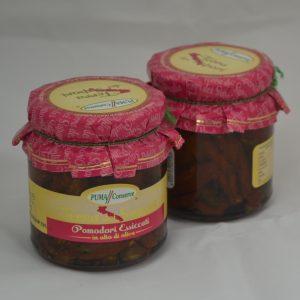 Pomodori essiccati in olio di oliva