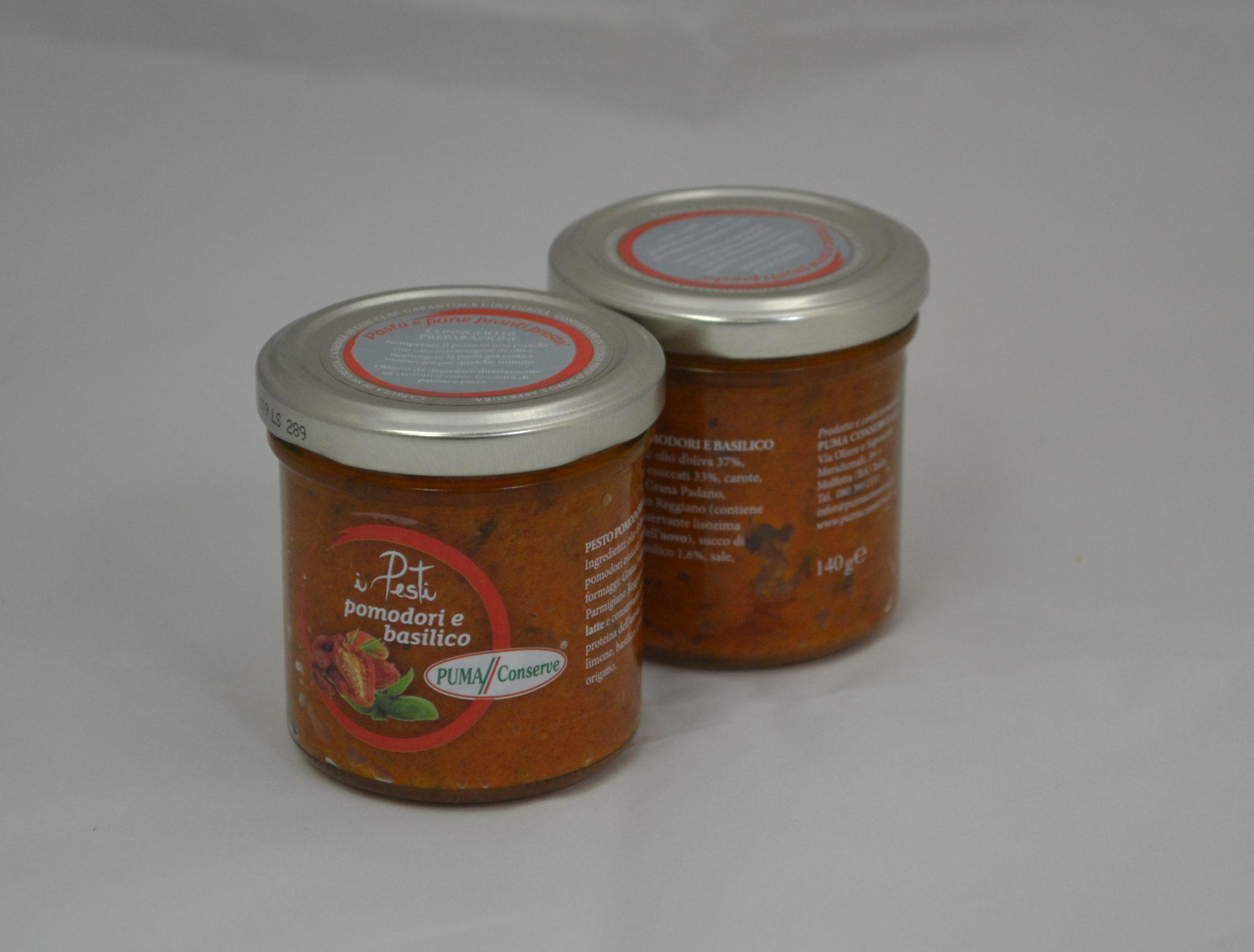 i Pesti pomodoro e basilico