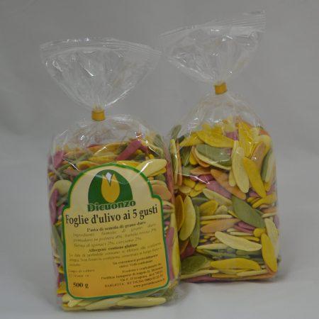 Foglie d'ulivo ai 5 gusti